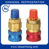 R134A Quick Coupler Refrigeration Brass Quick Coupling
