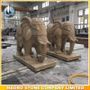 Stone Hand Carved Elephant Statue Thailand