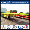 Cimc Huajun Exported Flatbed Trailer (SKD TYPE)