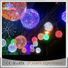 CE/RoHS 3D LED Holiday 3D Motif Light Red Ball Light