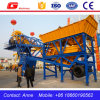 Ce Certification 35m3 Mobile Mini Concrete Batching Plant for Sale