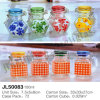 Clip Cap Rust Proof Spice Glass Jar with Different Sizes
