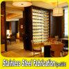Custom Made Modern Stainless Steel Wine Display Rack