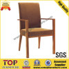 Imitated Wooden Restaurant Arm Chair