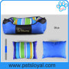 Rectangle Bolster Washable Pet Dog Bed with Removable Pillow