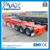 3 Axle 45′′ Gooseneck Skeleton Semi Trailer