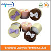 Manufacturer Customized Round Lovely Paper Gift Box with Bowknot (QY150210)