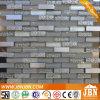 Shower Room Resin Flower, Aluminum and Uflat Glass Mosaic (M858017)