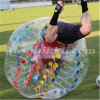 Ce Certificate Colorful Dots Bubble Soccer Ball for Adults D5084