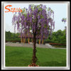 Wedding Decoration Fiberglass Plastic Artificial Wisteria Flower Tree
