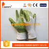 Ddsafety 2017 Nylon Green Nitrile Coated Glove Safety Gloves