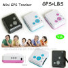 Smallest Mini GPS Tracker with Sos Button for Kids/Elderly V16