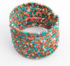 Open Bangle Bohemian Beads Fashion Charm Bracelet Jewelry