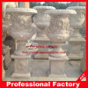 White Marble Stone Carved Garden Outdoor Flowerpot