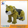 Coin Operated Games Motorized Plush Riding Animals 4 Wheel Hoverboard