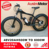 72V30ah 1500W 2000W Fat Electric Bike Electric Fat Bike with MID Motor Hub Motor