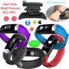 Waterproof Smart Bracelet with Bluetooth and Health Monitor CD01