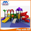 Plastic Outdoor Playground Txd16-I105A Outdoor Kids Slide with Swing