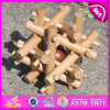 Irregular Figures Intelligence Game, Wood Intelligence Toy, Wooden Intelligence Toy. Preschool Wood Intelligence Toy W11c020