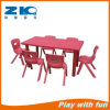 Indoor Plastic Rectangle Tables for Preschool