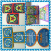 High Quality Woven Patches with Overlocking (AMWP2014029)