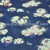 Cotton Polyester Spandex Satin Printed Fabric for Garment Dress (GLLML194)