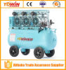 2250W 80L Dental Oil Free Air Compressor for Sale (TW7503)
