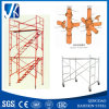 Customized Prefabricated Scaffolding for Construction Using