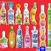 Liquid Beverages Plastic Packaging Shaped Bag
