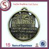 Custom Engraved Chrome Plated Souvenir Medal