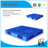 1100*1100*150mm Plastic Pallet Heavy Duty Static 6t Grid Double Deck Rackable Plastic Tray for Warehouse Storage (ZG-1111)