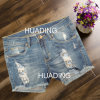 Hot Sexy New Design Women′s Shorts Jeans Ripped Jeans (HDLJ0054)