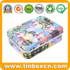 Hot Sale Rectangular Jewelry/Jewellery Metal Gift Tin Case