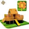Promotion Superior Quality Commercial Kids Wooden Outdoor Playground Equipment