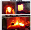 Induction Heater Equipment for Metal Bar Bolt Nuts Induction Heating Forging Machine