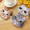 New Cute Cat Face Printed Zipper Coin Purses for Kids Cartoon Wallet Bag Coin Pouch Children Purse Holder Women Coin Wallets