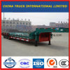 Detachable Heavy Duty Machine Transport Lowbed Goose Neck Semi Trailer