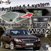 Android GPS Navigation System Video Interface for Mercedes-Benz E W212 Class (NTG-4.5)