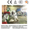 Waste Film Scrap Plastic Pelletizing Machine with Siemens PLC
