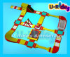 FWPK-005 Inflatable Custmoized Giant Floating Water Park