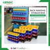 Hardware Store Back Hanging PP Reusable Storage Plastic Bins for Rack
