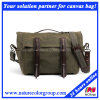 Mens Casual Waxed Canvas Duffle Bag for Traveling