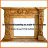 Antique French Fireplace Mantel/Fireplace Surround/Overmental