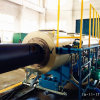 Plastic PE Gas Supply Extrusion Pipe Production Line