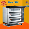 High Quality 3 Deck 9-Tray Luruxy Wire-Heating Electric Oven