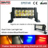 4X4 LED Driving Light Bar with Dual Color White/Amber/Red/Blue/Green Light