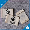 100% Soft Natural Cotton Fabric Denim Printing Label