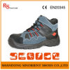 Blue Suede Leather Steel Toe Cruiser Security Safety Boots S3