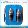 Tungsten Carbide Round Shank Bullet Teeth B47k22-H for Rotary Drilling Tools