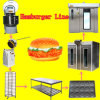 Produce Round Different Size Hamburger Complete Bread Maker Machine